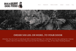 Bulk Raw Dog Food reviews and complaints