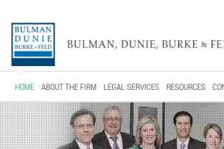 Bulman Dunie Burke and Feld reviews and complaints