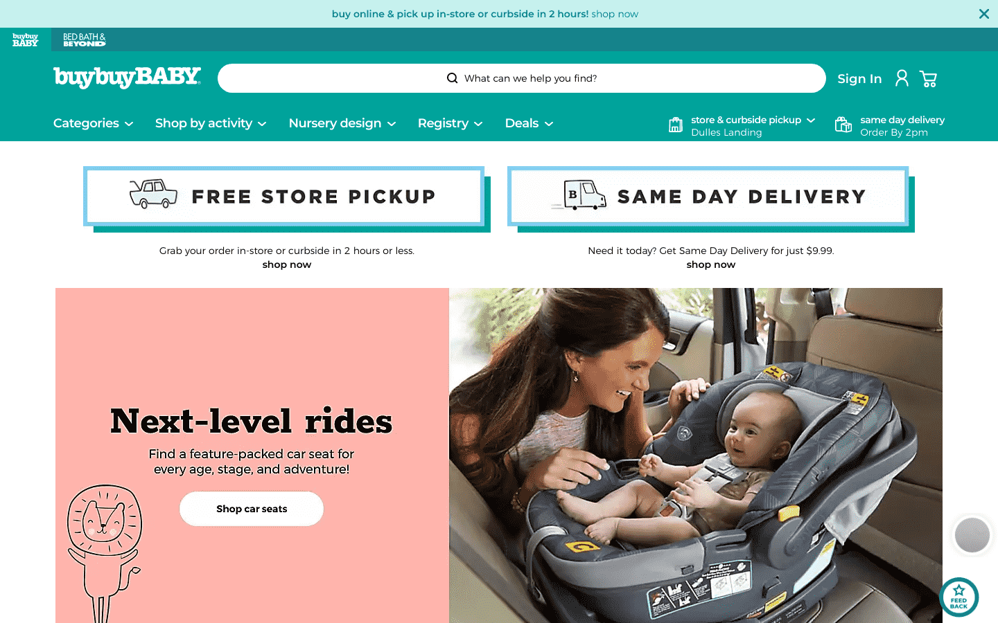 Buy Buy Baby reviews and complaints