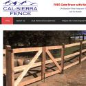 Cal Sierra Fence