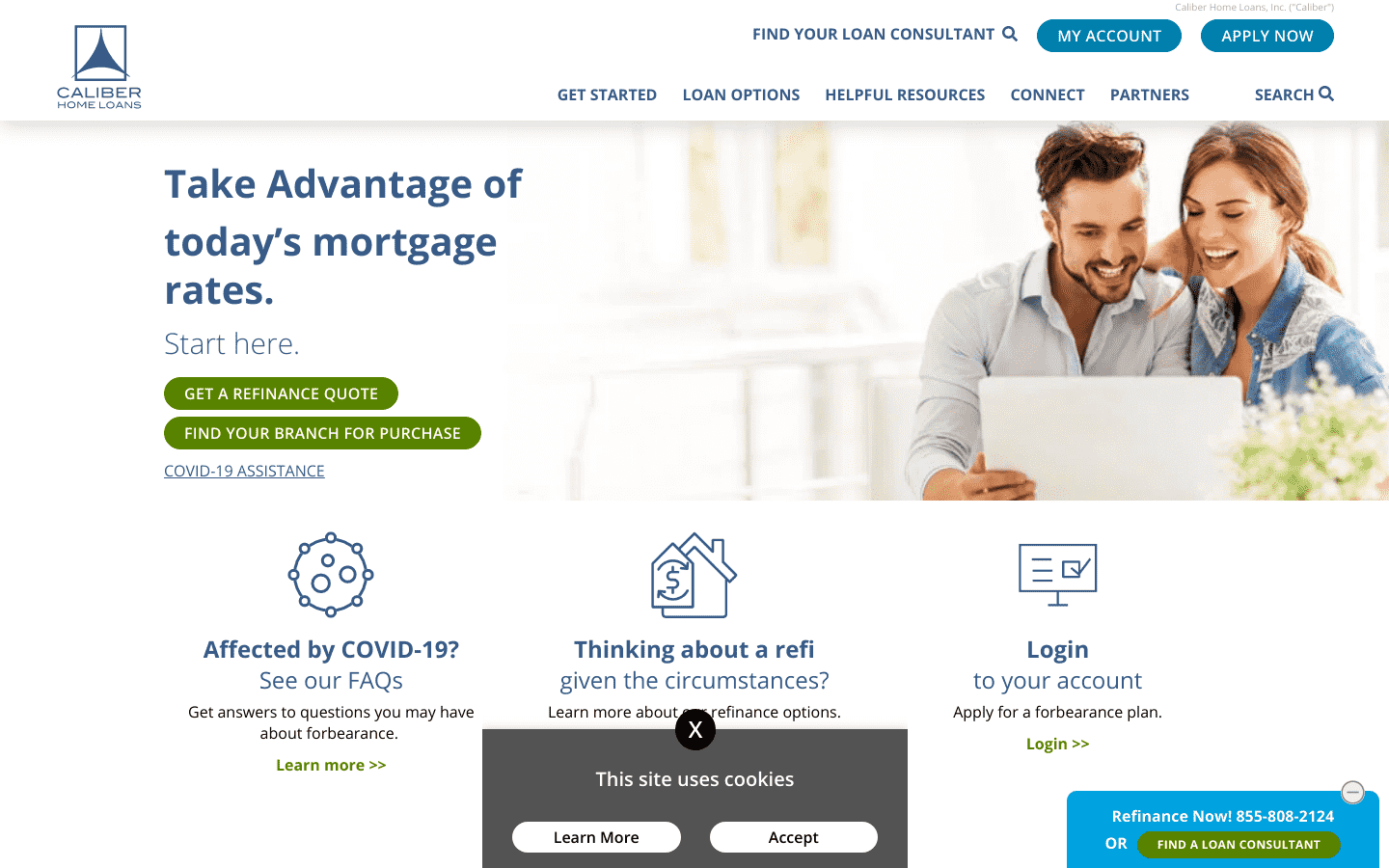 Caliber Home Loans reviews and complaints