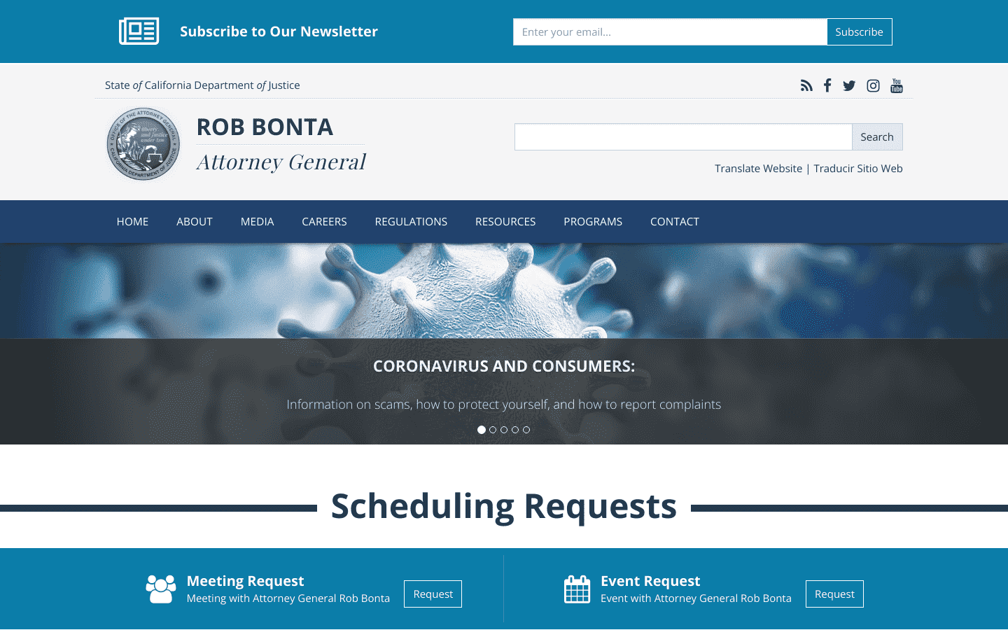 California Attorney General reviews and complaints