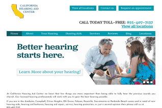 California Hearing Aid Center reviews and complaints