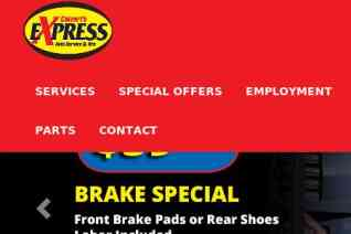 Calverts Express Auto Service And Tire reviews and complaints