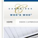 Cambridge Whos Who