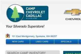 Camp Chevrolet Cadillac reviews and complaints