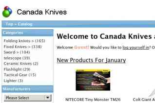 Canada Knives And Swords reviews and complaints