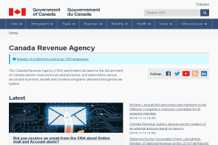 Canada Revenue Agency reviews and complaints