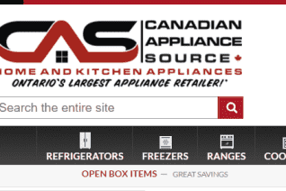 Canadian Appliance Source reviews and complaints