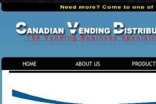 Canadian Vending Distributors reviews and complaints
