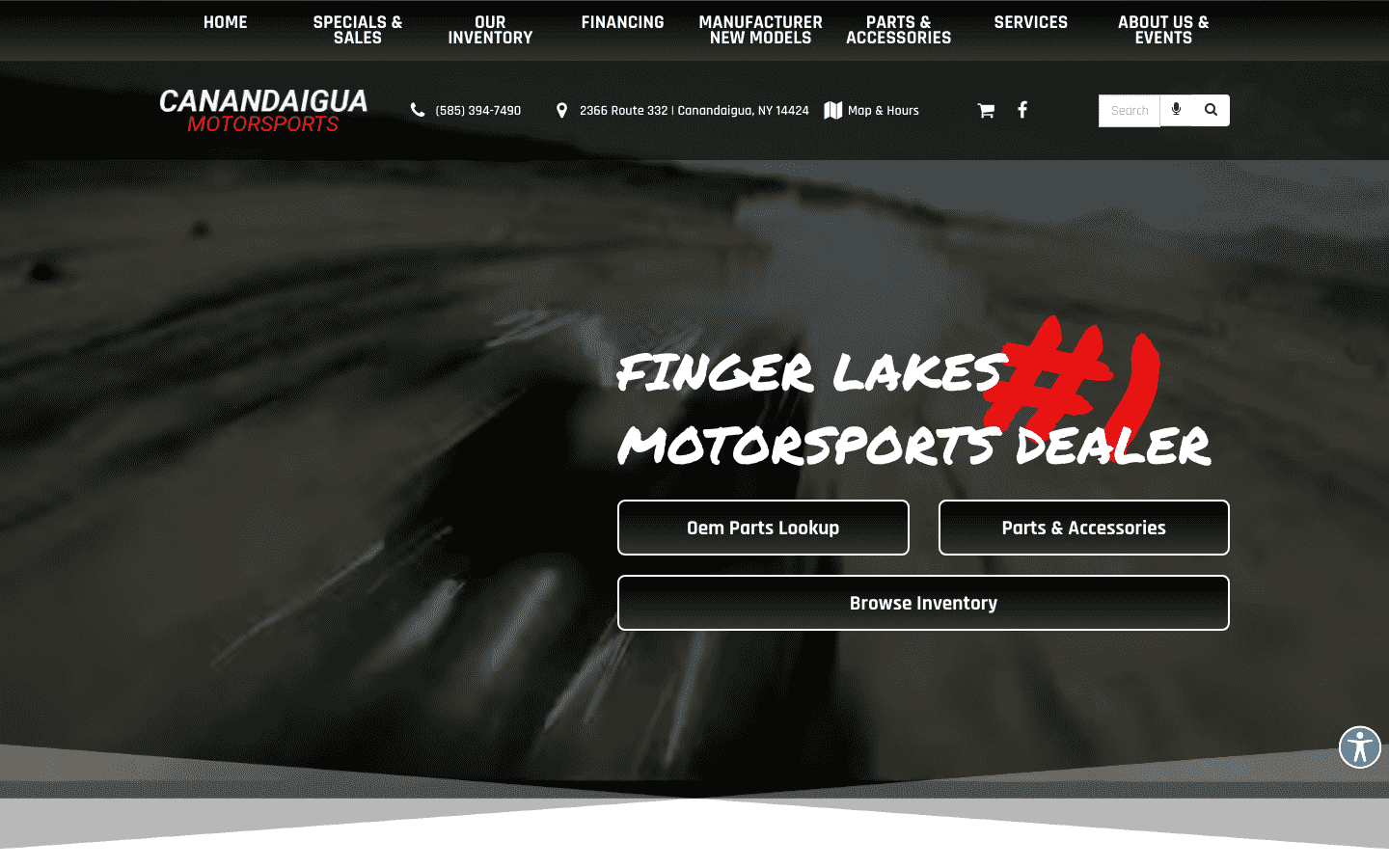 Canandaigua Motorsports reviews and complaints