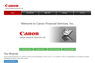 Canon Financial Services reviews and complaints