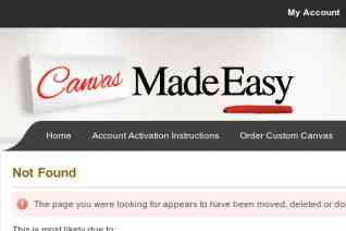 Canvas Made Easy Toronto reviews and complaints