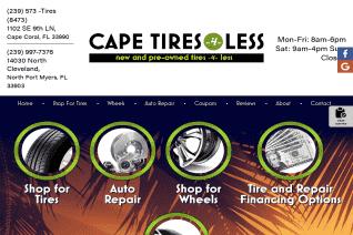 Cape Tires 4 Less reviews and complaints