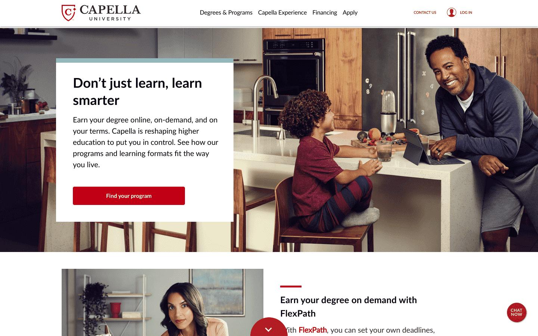 Capella University reviews and complaints