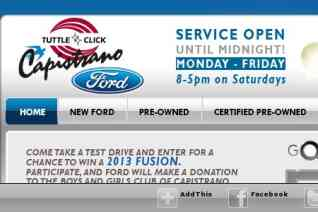 Capistrano Ford reviews and complaints