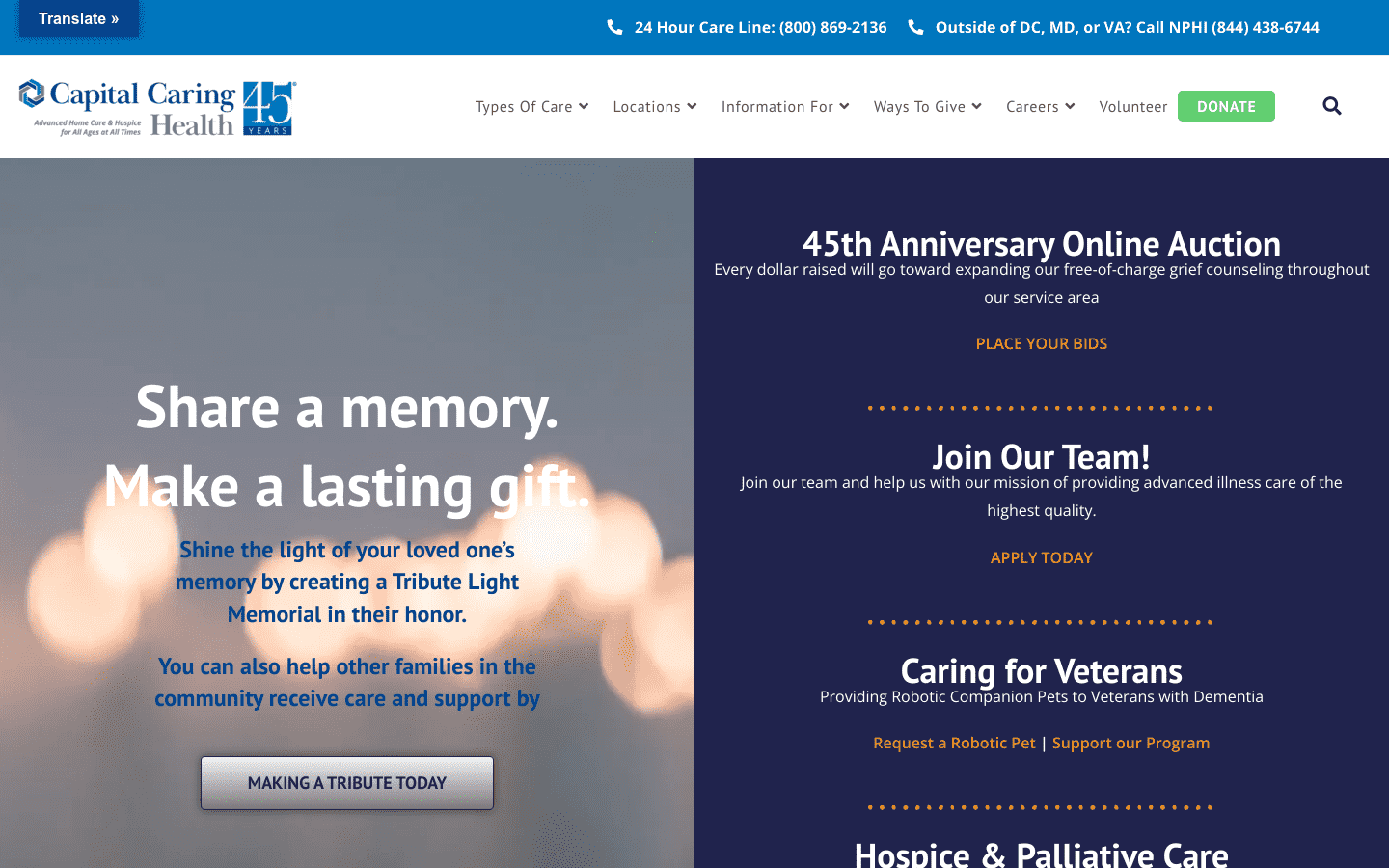 Capital Caring reviews and complaints