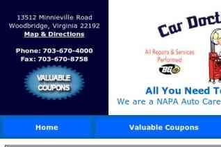 Car Doctor Auto Center reviews and complaints
