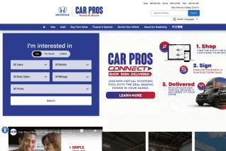 Car Pros Honda El Monte reviews and complaints