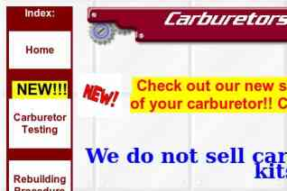 Carburetors And More reviews and complaints