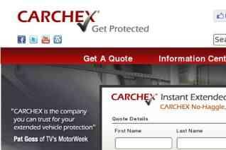 CARCHEX reviews and complaints