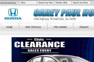 Carey Paul Honda reviews and complaints