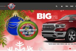 Carl Burger Dodge Chrysler Jeep RAM World reviews and complaints