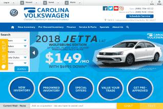 Carolina Volkswagen reviews and complaints