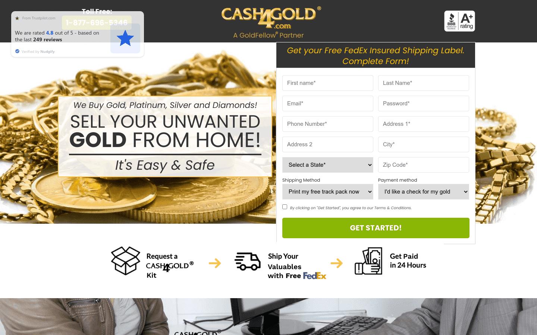 Cash4gold reviews and complaints