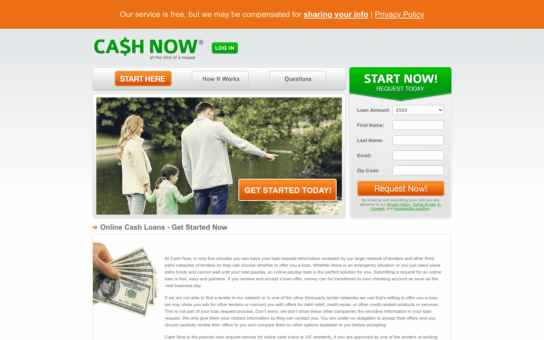 CashNow reviews and complaints