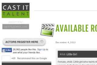 Cast It Talent reviews and complaints