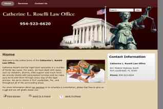 Catherine L Roselli Law Office reviews and complaints