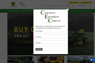 Cazenovia Equipment reviews and complaints