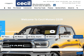 Cecil Atkission Chrysler Dodge Jeep Ram Of Burnet reviews and complaints