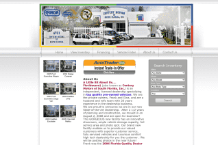 Century Motors of South Florida reviews and complaints