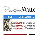 Certified Watch Store reviews and complaints