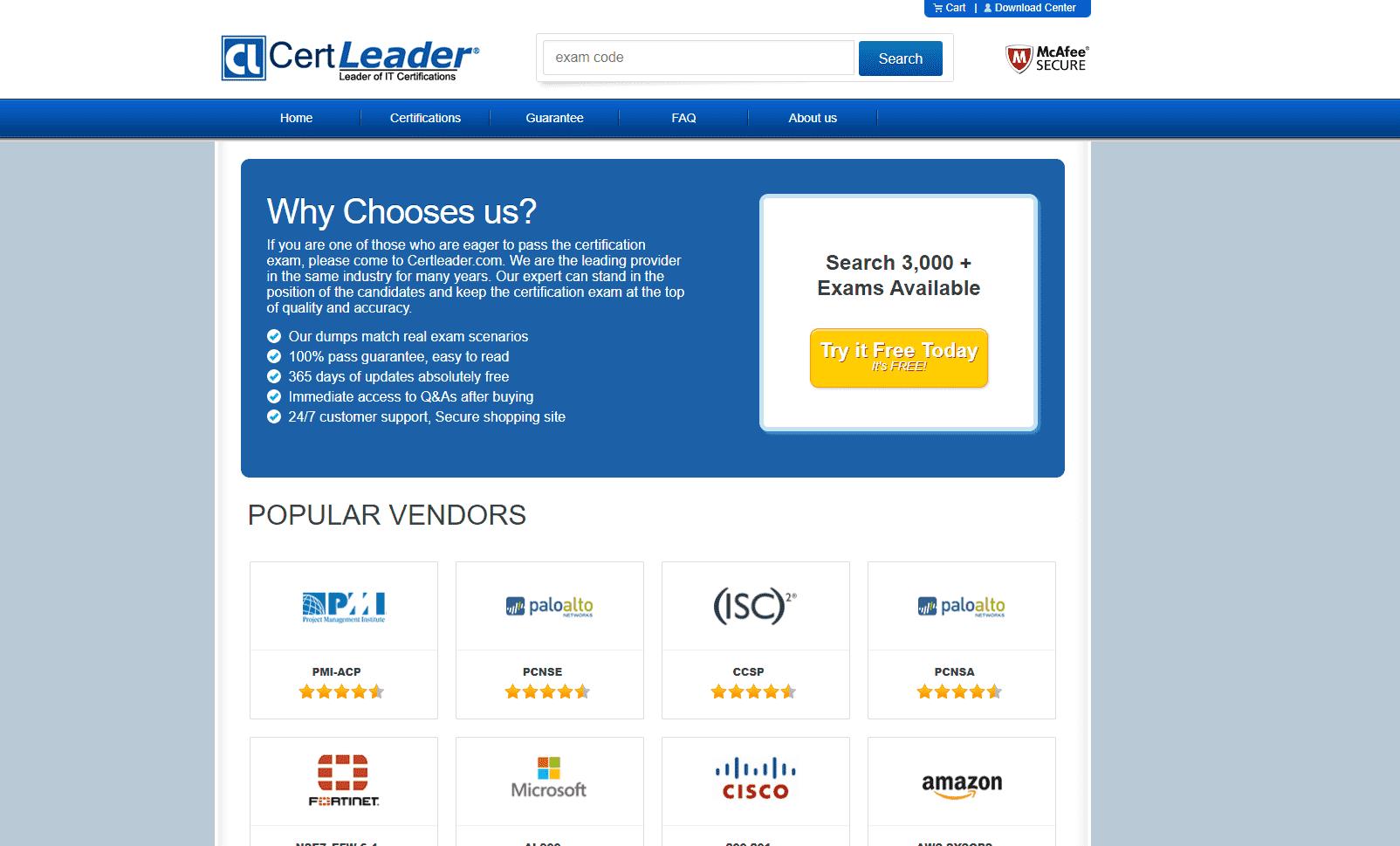 Certleader reviews and complaints