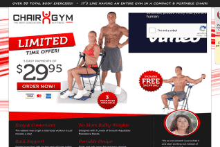 Chair Gym reviews and complaints