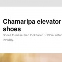 Chamaripa Elevator Shoes