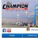 Champion Chevrolet reviews and complaints
