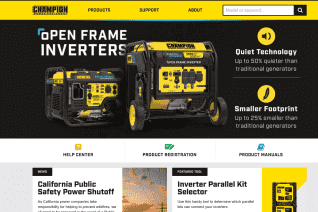 Champion Power Equipment reviews and complaints