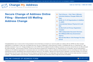 ChangeMyAddress Org reviews and complaints