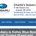 Charlies Subaru reviews and complaints