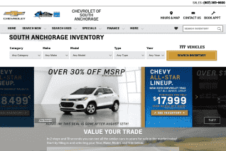 Chevrolet of South Anchorage reviews and complaints