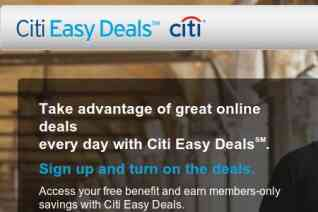 Citi Easy Deals reviews and complaints