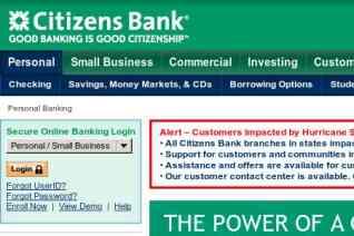 Citizens Bank reviews and complaints