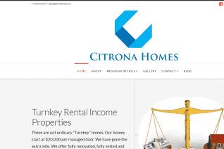 Citrona Homes reviews and complaints