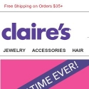 Claires reviews and complaints
