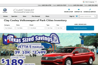 Clay Cooley Volkswagen of Park Cities reviews and complaints