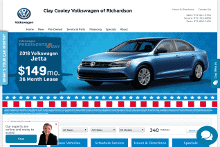 Clay Cooley Volkswagen Of Richardson reviews and complaints
